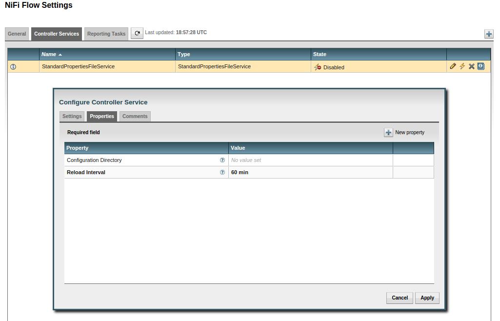 Developing a Custom Apache Nifi Controller Service