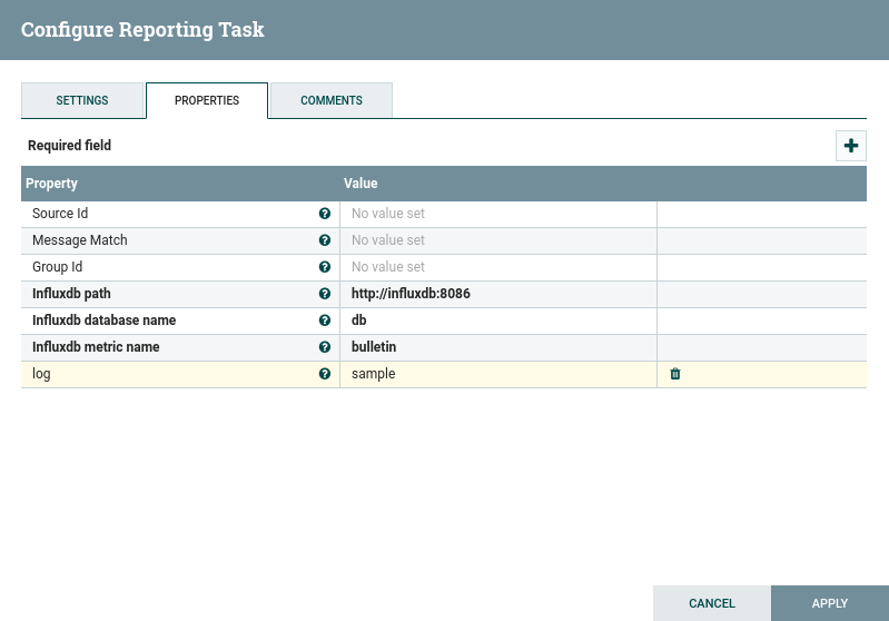 Developing a Custom Apache Nifi Reporting Task
